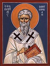 St Cyprien de Cartage